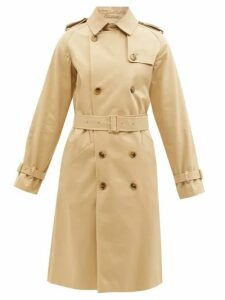 A.p.c. - Greta Cotton Twill Trench Coat - Womens - Beige