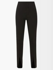 Burberry - Kensington Gabardine Trench Coat - Womens - Black