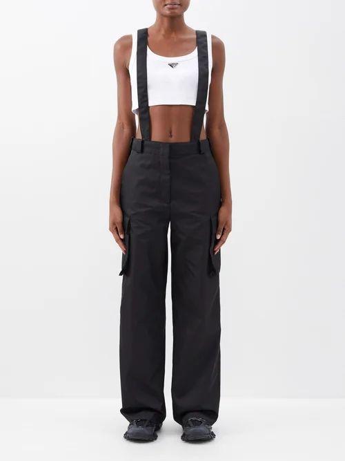 Burberry - Kensington Hooded Taffeta Trench Coat - Womens - Camel