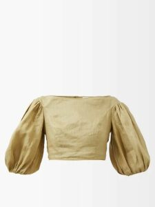 Burberry - Kensington Hooded Taffeta Trench Coat - Womens - Camel