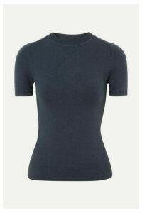 JoosTricot - Stretch Cotton-blend Sweater - Navy
