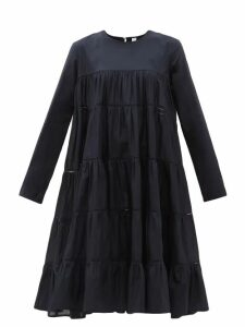 Giuliva Heritage Collection - The Christie Lana Linen Trench Coat - Womens - Blue