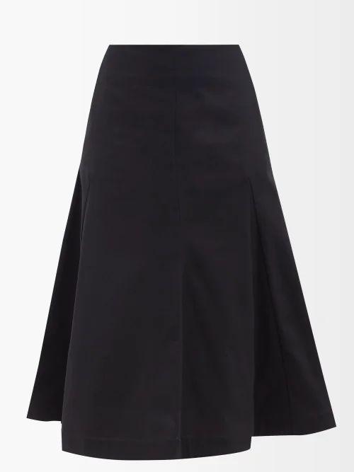 Ganni - Callahan V Neck Mohair Blend Sweater - Womens - Light Grey