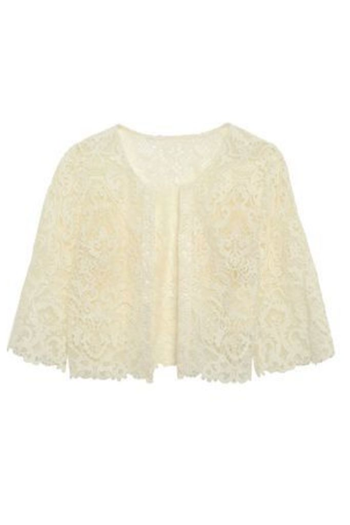 Catherine Deane Woman Kalista Lace Jacket Ivory Size 14