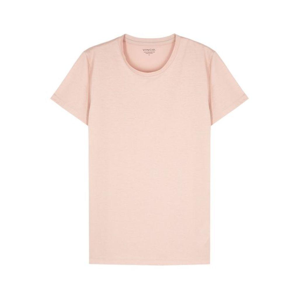 Vince Rose Pima Cotton T-shirt