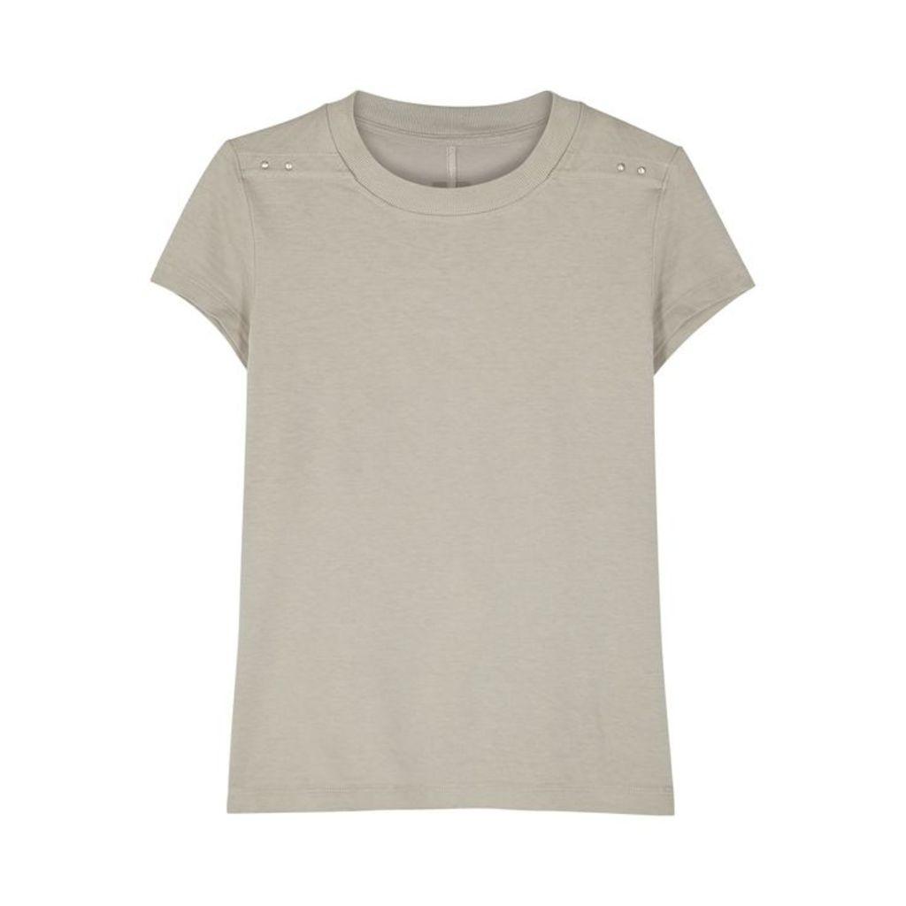 Rick Owens Grey Cotton T-shirt