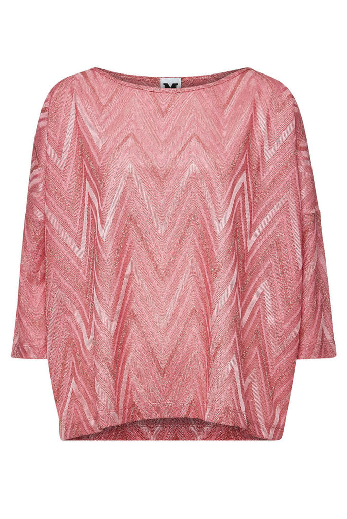 M Missoni Knit Top with Cotton