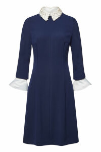 Steffen Schraut Florence Midi Dress with Embellishment