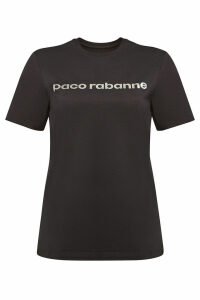 Paco Rabanne Printed Cotton T-Shirt