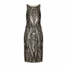 Adrianna Papell Halter Short Dress