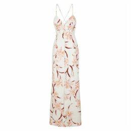 Zimmermann Corsage Floral-print Linen Maxi Dress