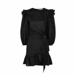 Isabel Marant Étoile Telicia Ruffle-trimmed Linen Mini Dress