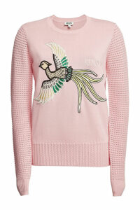 Kenzo Embroidered Pullover with Cotton