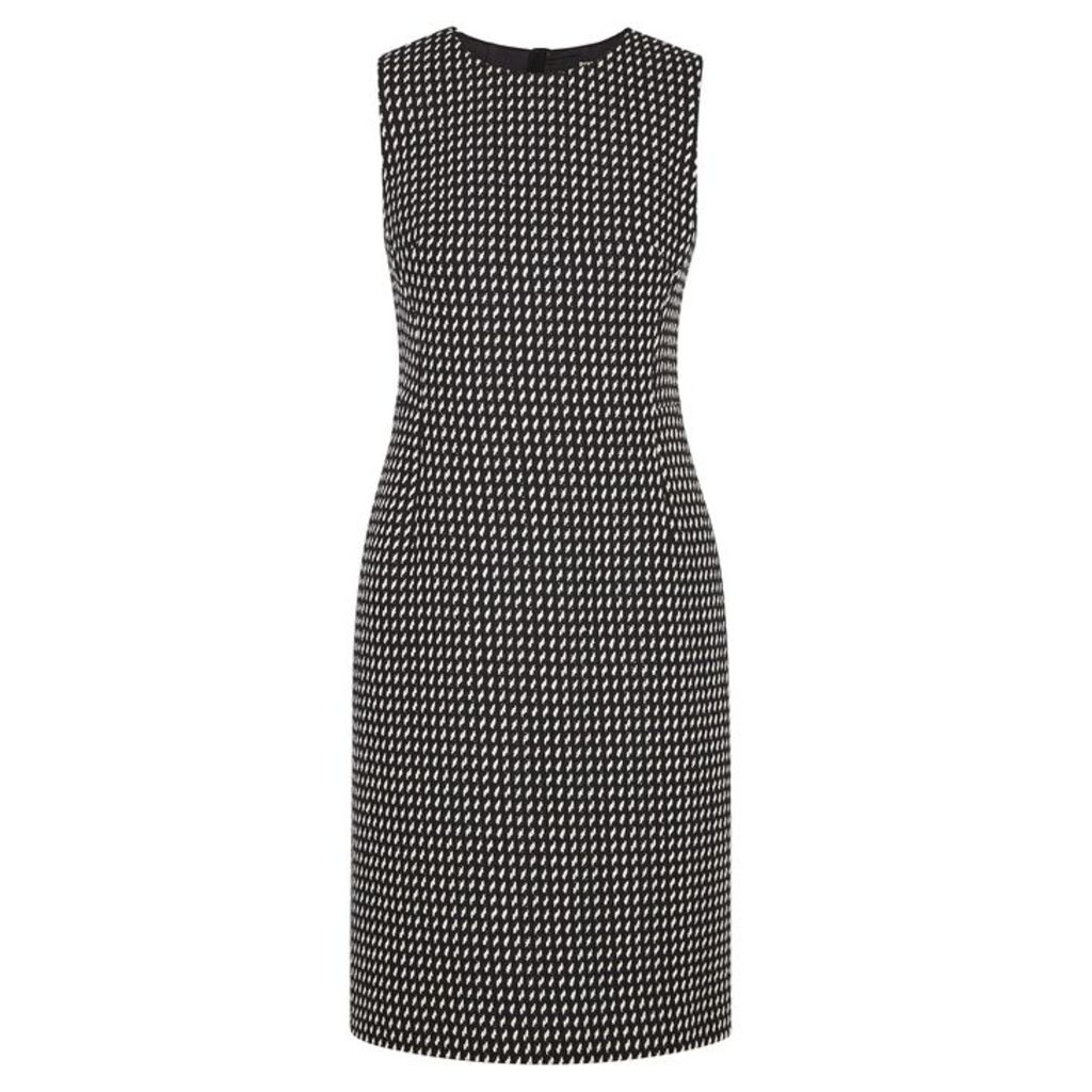 Paule Ka Monochrome Cotton-blend Dress