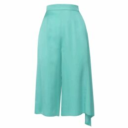 Neola - Anais Rose Gold Stacking Ring With Blue & London Topaz