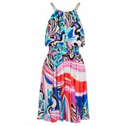 Emilio Pucci Printed Halterneck Dress