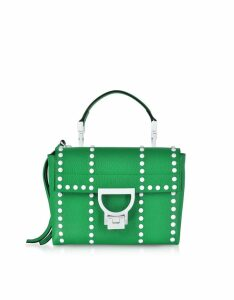 Coccinelle Designer Handbags, Arlettis Mini Special Studs Leather Shoulder Bag
