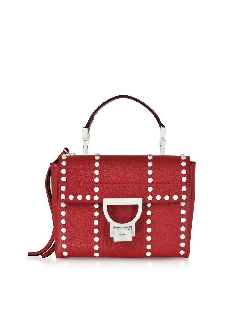 Coccinelle Designer Handbags, Arlettis Mini Special Studs Leather Shoulder Bag