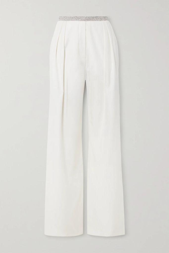 Alexander McQueen - Grain De Poudre Wool Pencil Skirt - Black