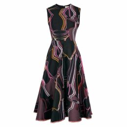 Roksanda Orlena Jacquard-twill Dress