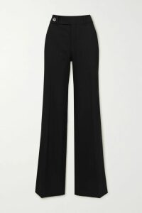 Roland Mouret - Chaney Checked Cotton-blend Bouclé Midi Dress - Burgundy
