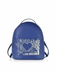 Love Moschino Designer Handbags, Printed City Lovers Backpack
