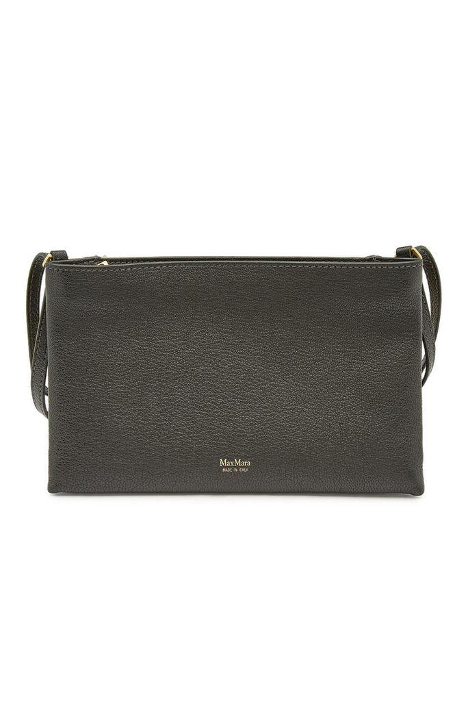 Max Mara Marlene Leather Shoulder Bag