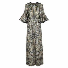 Chloé Paisley Silk-blend Jacquard Maxi Dress