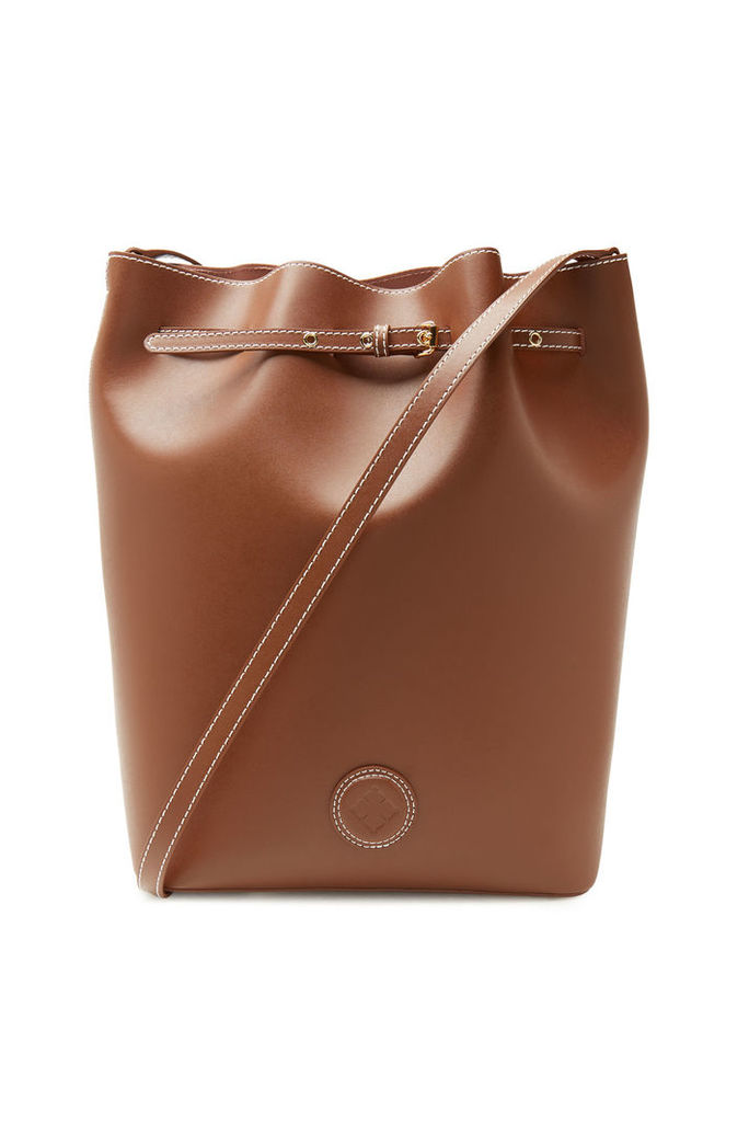 By Malene Birger Ema Leather Bucket Bag