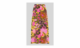 Luella Bloom Print Skirt