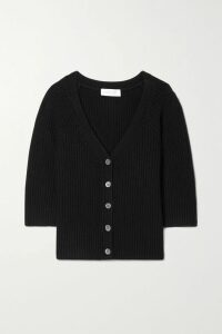 Galvan - Pinstriped Crepe Coat - White