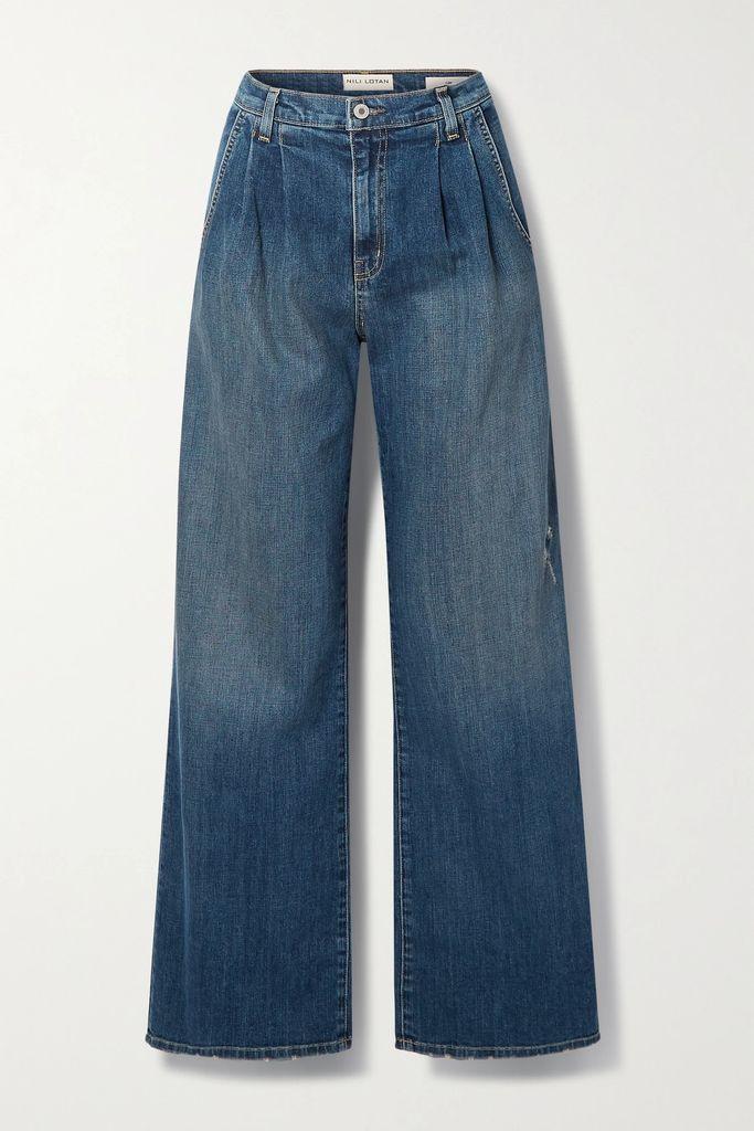 Alexander Wang - Studded Cotton-blend Twill Coat - Black