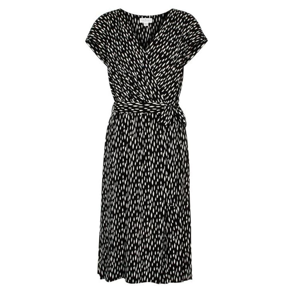 Velvet By Graham & Spencer Tamar Printed Voile Midi Dress