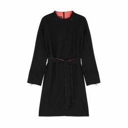 Emporio Armani Black Belted Dress