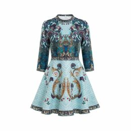 Comino Couture Comino Couture Peacock Skater Dress