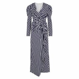 Jonathan Simkhai Striped Cupro-blend Maxi Dress