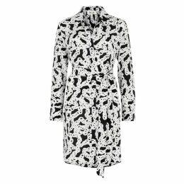 Diane Von Furstenberg Prita Printed Silk Dress