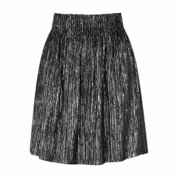 Isabel Marant Delphi Silver Lamé Skirt