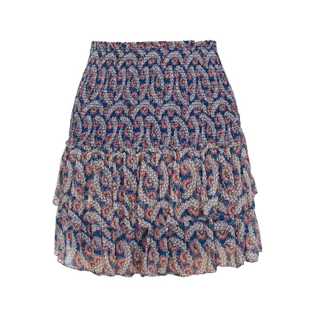 Isabel Marant Étoile Brinley Printed Chiffon Skirt
