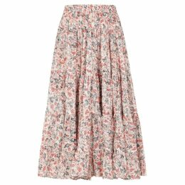 Isabel Marant Étoile Elfa Printed Cotton Skirt