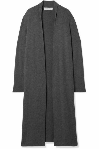 Gabriela Hearst - Llorona Ribbed Cashmere Cardigan - Charcoal
