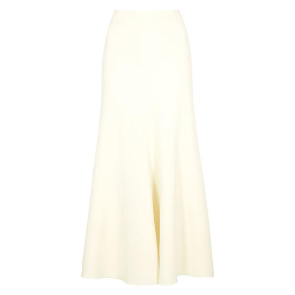 Giambattista Valli Off-white Cady Midi Skirt