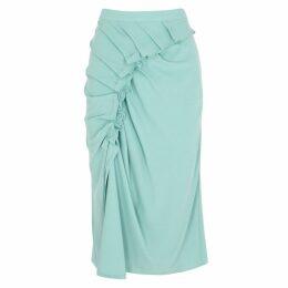 Sies Marjan Sadie Mint Ruffle-trimmed Skirt