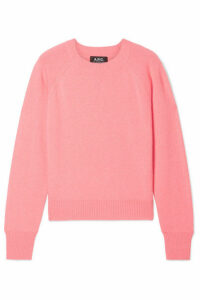 A.P.C. Atelier de Production et de Création - Stirling Cashmere Sweater - Coral