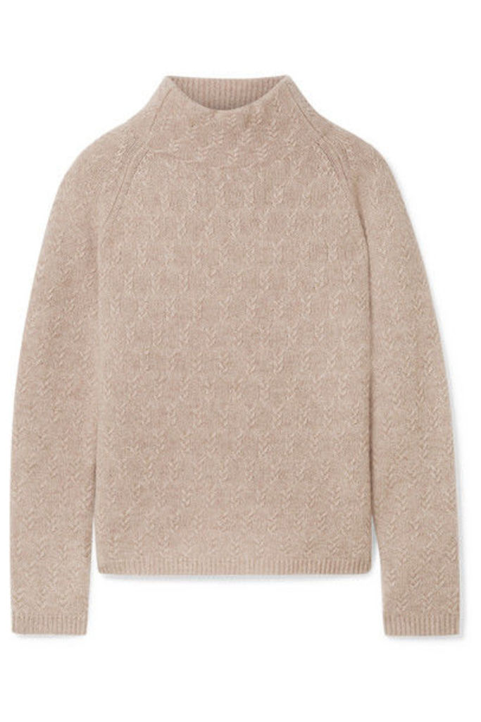 Max Mara - Cashmere Turtleneck Sweater - Beige