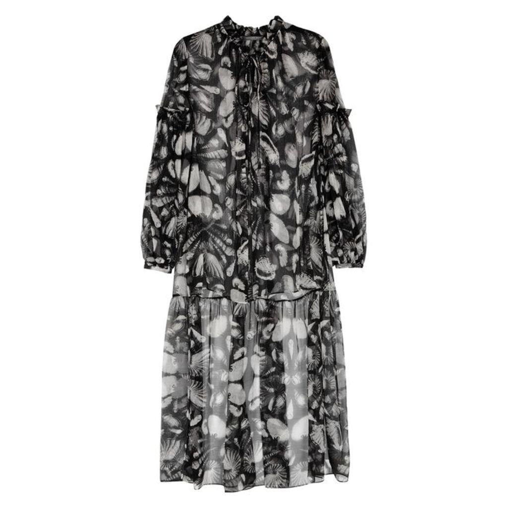 Alexander McQueen Cabinet Of Shells Printed Silk Shirt