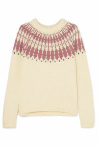 Madewell - Fair Isle Cotton-blend Sweater - Cream