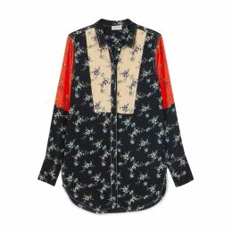 BY MALENE BIRGER Luccah Printed Crepe De Chine Shirt