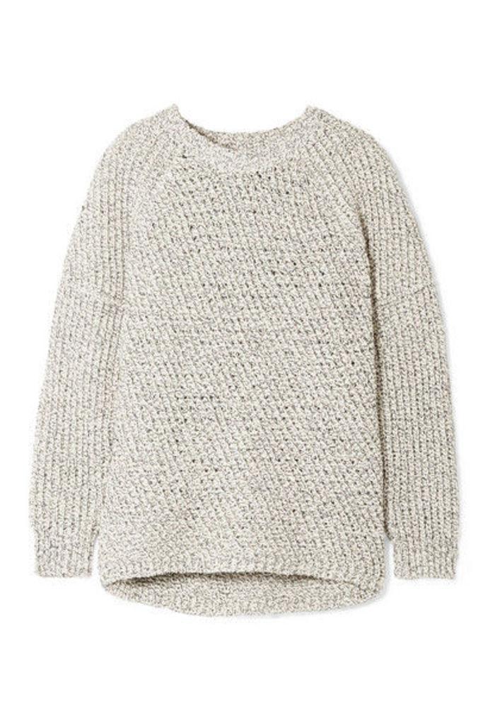 APIECE APART - Pia Cotton Sweater - Navy