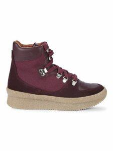 High-Top Flatform Sneakers